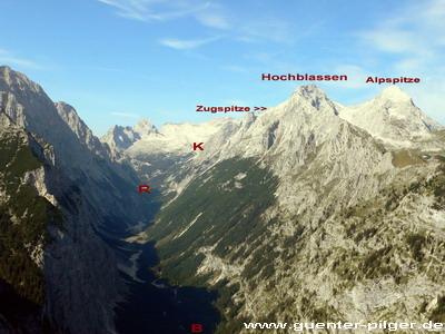 Klettersteig Zugspitze Schwierigkeitsgrad : Besteigung zugspitze über reintal zugspitzbesteigung